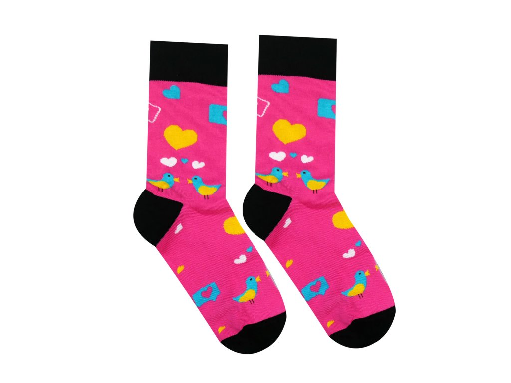 Levně Veselé ponožky Holubičky