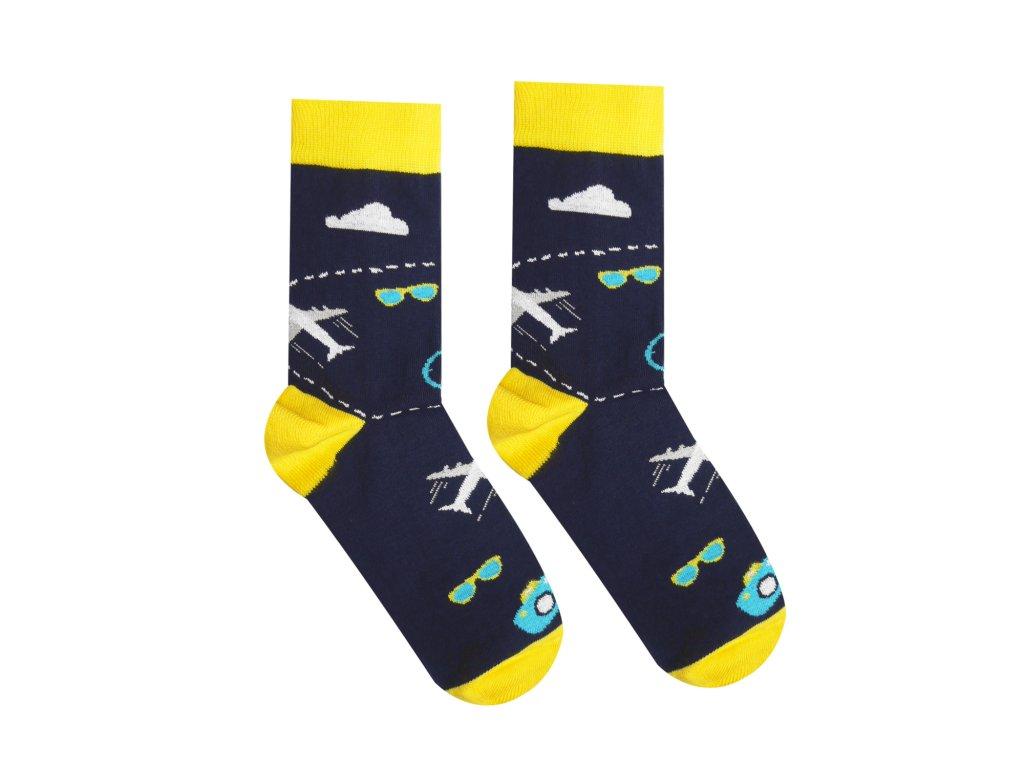Levně Veselé ponožky Cestovatel