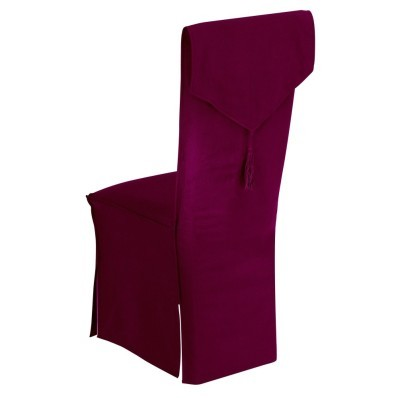 Potah na židli se střapcem