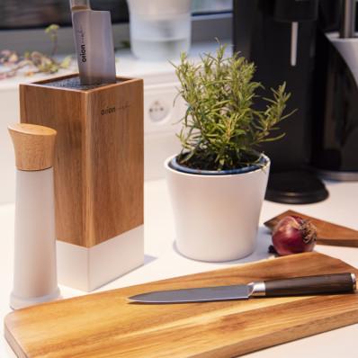 Mlýnek gumovníkové dřevo/UH 20 cm WHITEL
