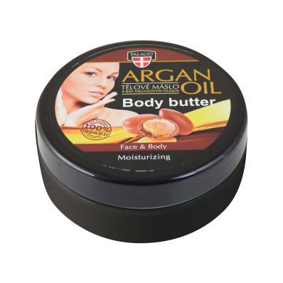 Arganový olej máslo tělové 200ml