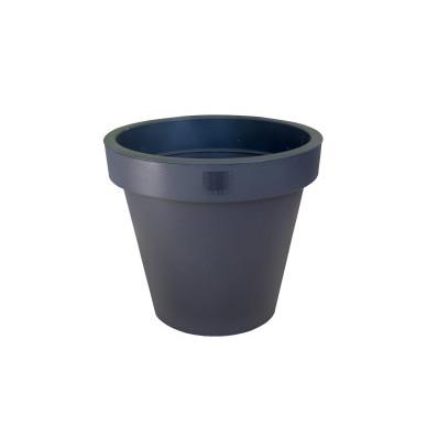 Květináč antracitový průměr 25 cm