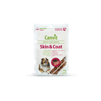Canvit Snacks Skin and Coat