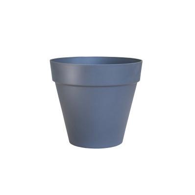 Designový květináč ELHO antracitový průměr 20 cm
