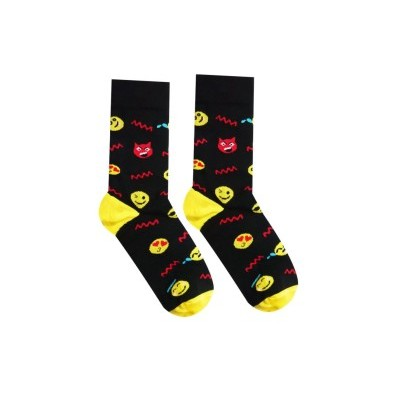 Veselé ponožky Smajlík