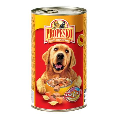 Propesko pro psy kuře 1240 g
