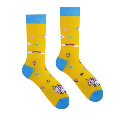 Veselé ponožky Jednorožec
