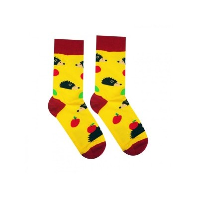 Veselé ponožky Ježek