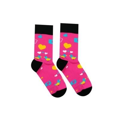Veselé ponožky Holubičky