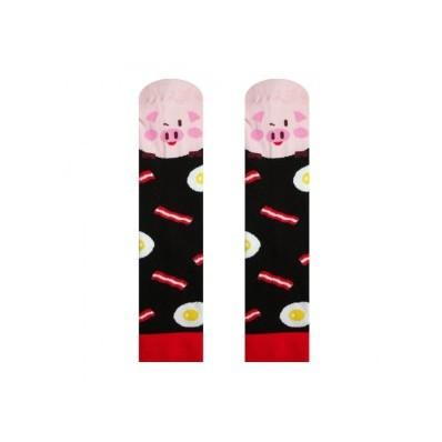 Veselé ponožky Prasátko