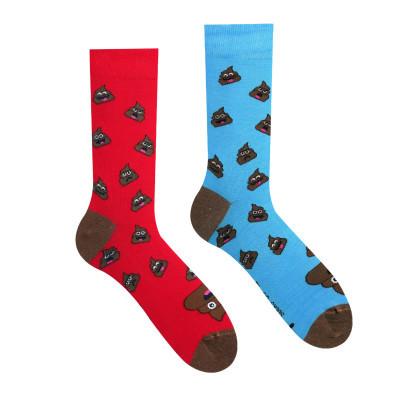 Veselé ponožky Hovínko