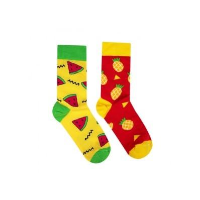 Veselé ponožky Meloun a ananas