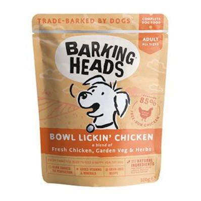 BARKING HEADS Chicken kapsička