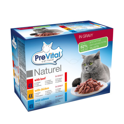 Prevital NATUREL kapsa mix 12x85 g