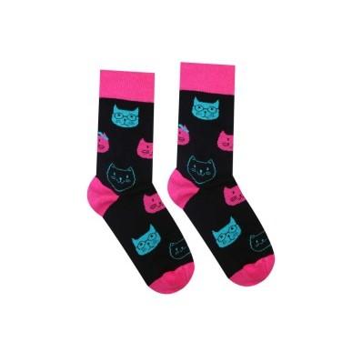 Veselé ponožky Kočka