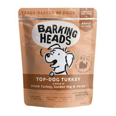 BARKING HEADS Turkey kapsička