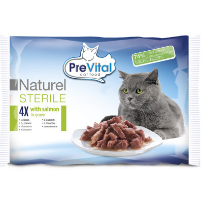 PreVital NATUREL cat STERILE mix 4x85 g