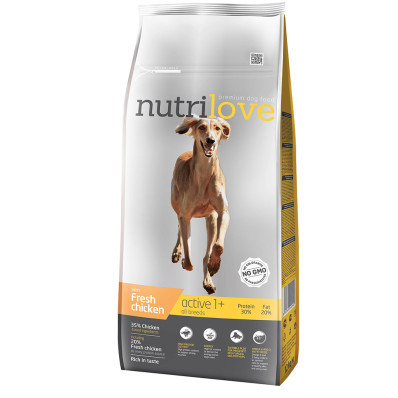 Nutrilove dog dry ACTIVE