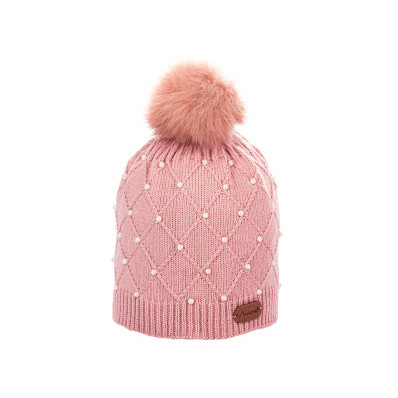 Čepice s perličkami