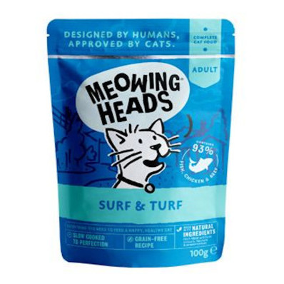 MEOWING HEADS Surf   Turf kapsička
