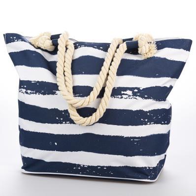 Plážová taška s pruhy