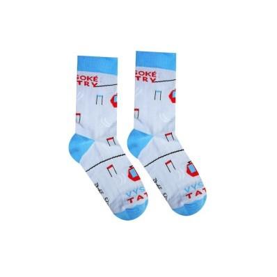 Veselé ponožky Vysoké Tatry