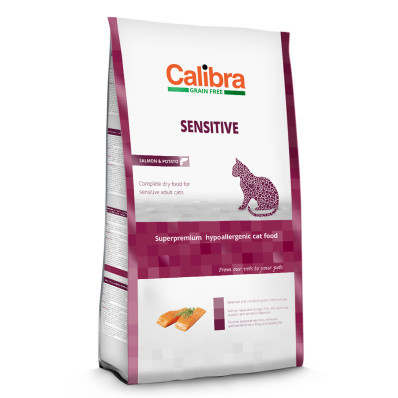 Calibra Cat GF Sensitive Salmon 2 kg