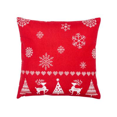 Povlak na polštář vánoční