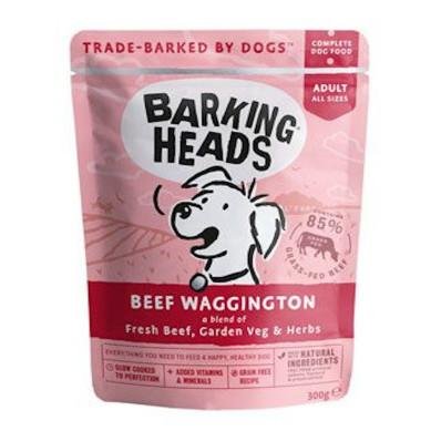 BARKING HEADS Beef kapsička
