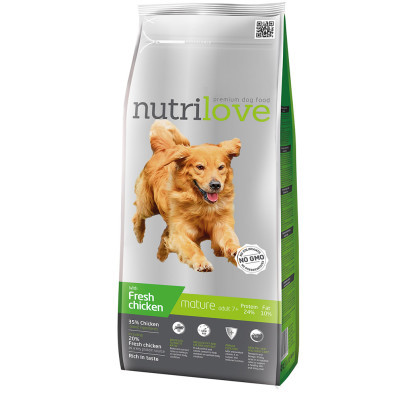 Nutrilove dog dry SENIOR