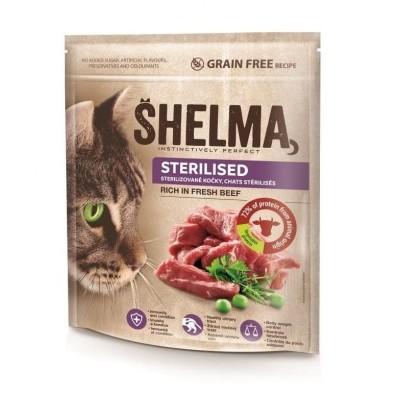 Shelma Sterile bezobilné granule pro dospělé kočky750g