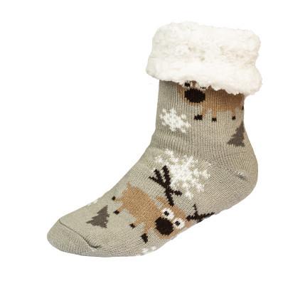 Zimní ponožky, sobi