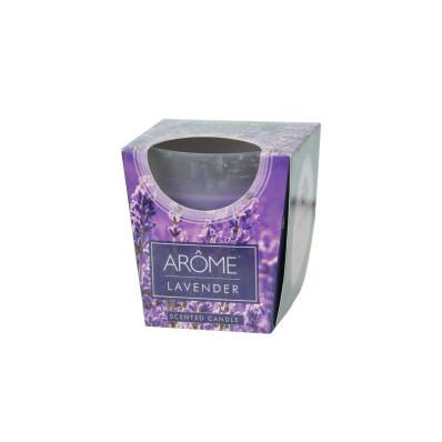 Svíčka Arôme v matném skle v krabičce 100 g