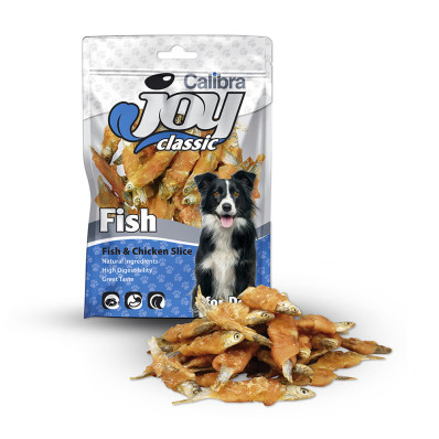 Calibra Joy Dog Classic Fish+Chicken Sli