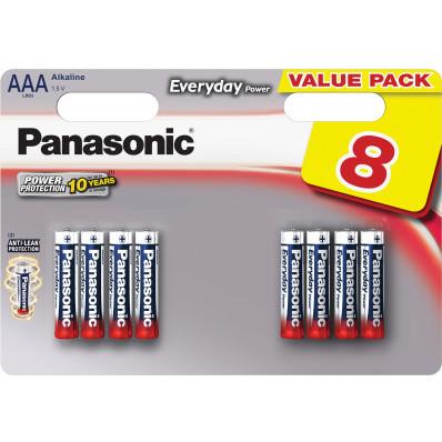 Alkalické baterie PANASONIC AAA