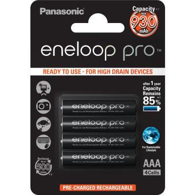 Sada nabíjecích baterií AAA  ENELOOP PRO PANASONIC