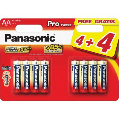 Alkalické baterie Panasonic Pro Power AA