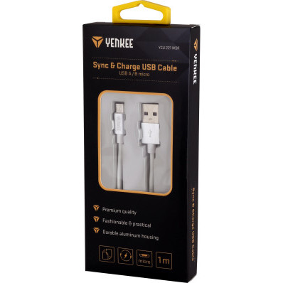 Synchronizační a nabíjecí kabel USB 1 m
