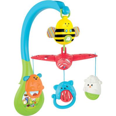 Hrací kolotoč nad postýlku Včela
