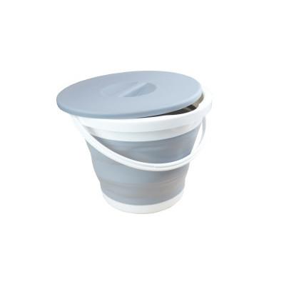 Skládací kbelík s víkem 5 l
