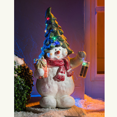 LED sněhulák