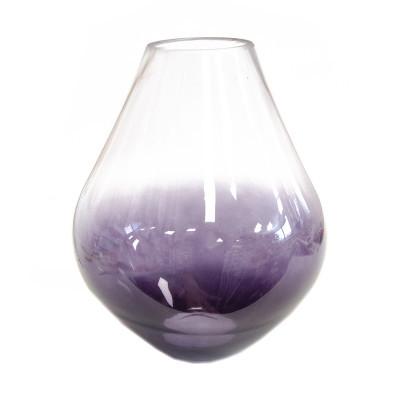 Váza skleněná Purple