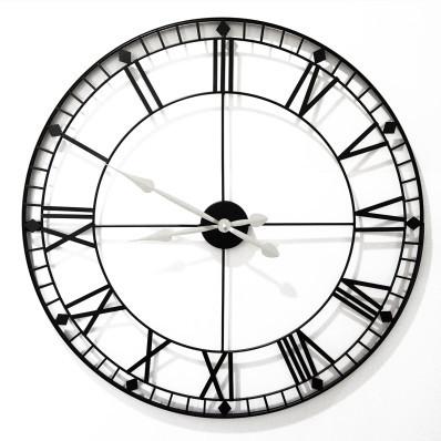 Nástěnné kovové hodiny