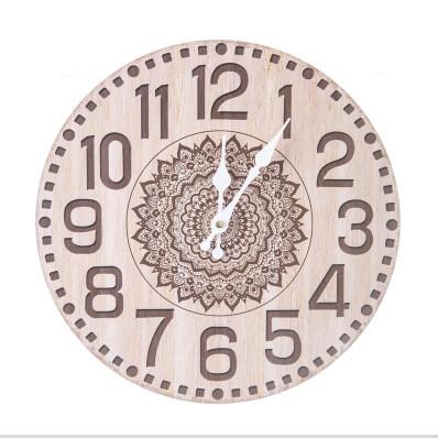 Nástěnné hodiny Mandala