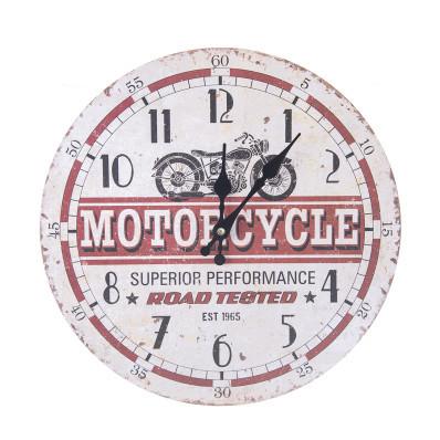 Nástěnné hodiny Motocykl