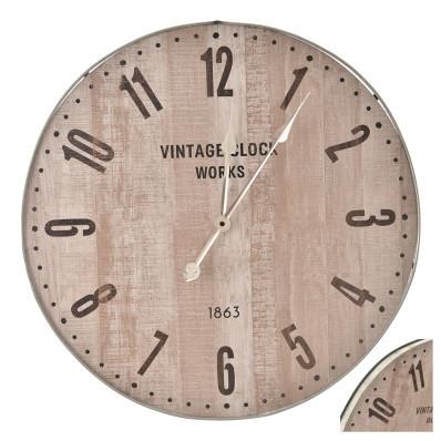 Nástěnné hodiny Beige