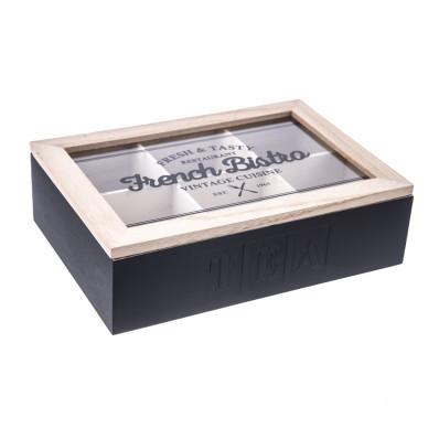 Zásobník na čajové sáčky Wood