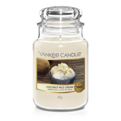 Vonná svíčka Yankee Candle velká Coconut rice cream classic