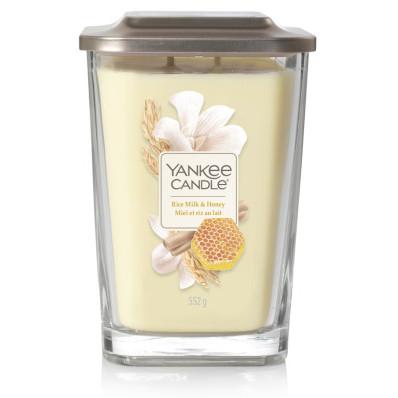 Vonná svíčka Yankee Candle velká 2 knoty Rice milk and honey