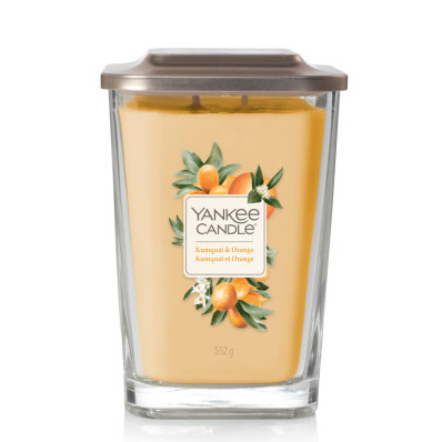Vonná svíčka Yankee Candle velká 2 knoty Kumquat and orange